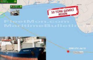 Korsanlar Türk gemisine saldırdı, ilk görüntüler...