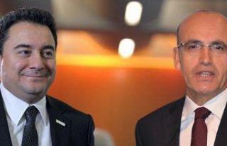 Mehmet Şimşek, Ali Babacan'ın yanında olacak...