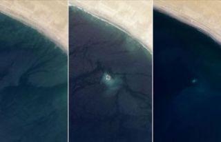 NASA açıkladı: Ada yok oldu