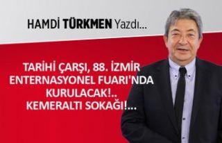 Tarihi Çarşı, 88. İzmir Enternasyonel Fuarı'nda...
