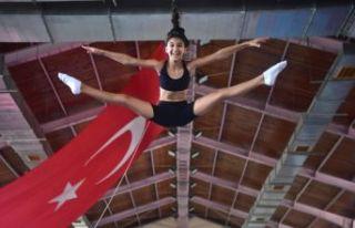 Bornova'da cimnastik kurslarına büyük ilgi