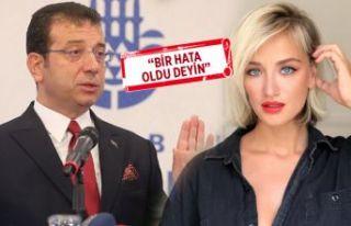 Didem Soydan'dan Ekrem İmamoğlu'na tepki