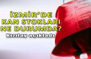 İzmir'de kan stokları ne durumda? Kızılay...