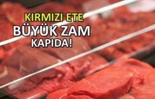 Kırmızı ete büyük zam kapıda