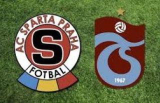 Trabzonspor Sparta Prag UEFA rövanş maçı saat...