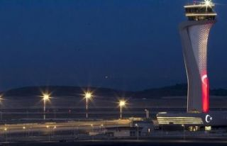 İstanbul Havalimanı'nda hizmet verilen yolcu...