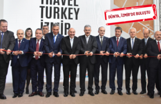 Uluslararası Travel Turkey İzmir Fuarı, kapılarını...