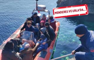 İzmir'de 171 mülteci yakalandı