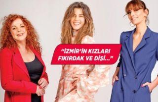İzmir'in kızları dişiliklerini hiç kaybetmiyorlar...