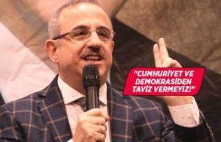 AK Partili Sürekli'den CHP'li Yücel'e...