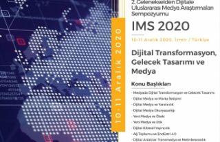 """EÜİF'nin """"IMS2020 Sempozyumu"""" 10-11..."""
