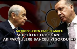 Metropoll'den çarpıcı anket: MHP'lilere...
