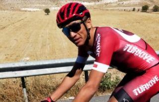 """Milli bisikletçi Ahmet Örken: """"Yarışmayı..."""