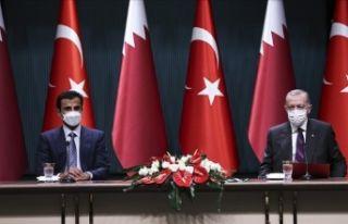 Türkiye ve Katar arasında 10 anlaşma imzalandı