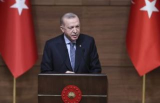 Cumhurbaşkanı Erdoğan, Ödül Töreni'nde...