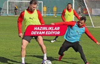 Göztepe, Konyaspor maçının hazırlıklarına devam...