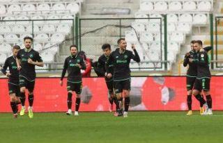 İttifak Holding Konyaspor: 2 - Gaziantep FK: 1