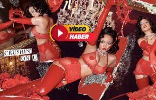 Rihanna,14 Şubat'a hazır!