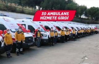 Sağlık Bakanlığınca İzmir'e gönderilen...