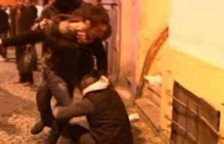 Taksim'de Dehşet Dolu Anlar