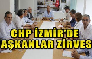 Chp İzmir'de Başkanlar Zirvesi