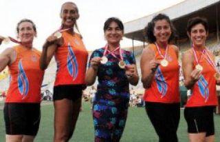 Masterler Şampiyonası'nda 5 Bayandan 10 Rekor