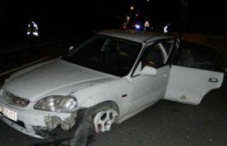 Aşırı Hız ve Alkol Kaza Getirdi