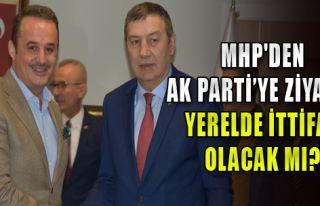 MHP'den AK Parti'ye ziyaret