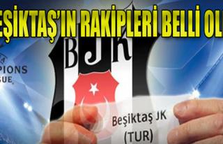 Beşiktaş'ın Şampiyonlar Ligi'ndeki Rakipleri