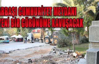 Pınarbaşı'nda Meydan Düzenlemesi