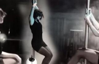 Nesrin'in Direk Dansı Olay Oldu