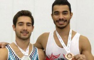 İzmir'e cimnastikte çifte gurur