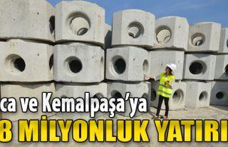 Buca ve Kemalpaşa'ya 7.8 Milyon Liralık Yatırım...