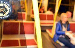 Bisikletçilere Metro ve İzban Müjdesi