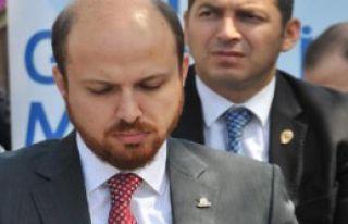 Bilal Erdoğan Cenaze Namazına Katıldı