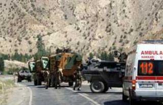Askeri Araç Mayına Bastı: 6 Yaralı