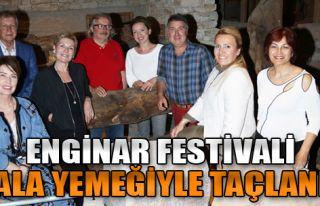 Enginar Festivali Gala Yemeği ile Taçlandı