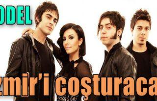 Model'den İzmir'de Konser