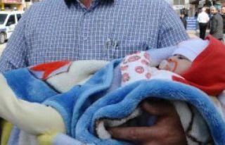 Berra Bebek Dumanların Arasından Kurtarıldı