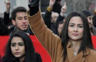 Sivas'ta Çakıroğlu İçin Yürüyüş