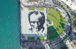 2 Bin 400 Kişiden Atatürk Portresi