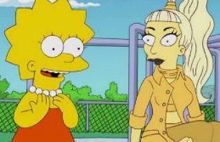 Lady Gaga The Simpsons'da