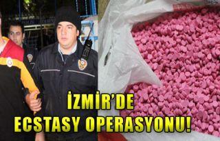 İzmir'de Ecstasy Operasyonu!