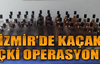 Ödemiş'te Toplam 69 Şişe Kaçak Rakı ve Viski...