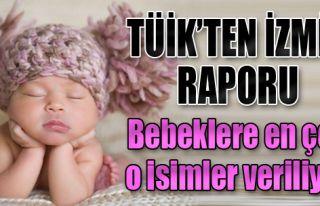 İzmirli Bebeklere En Çok O İsimler Veriliyor