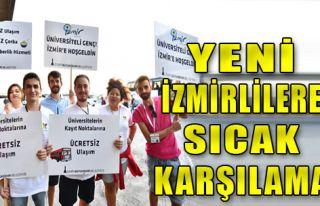 İzmir'de Örnek Karşılama