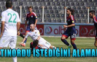 Boluspor 0-0 Altınordu