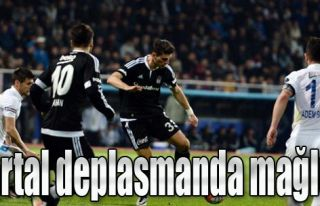 Beşiktaş Deplasman'da Mağlup