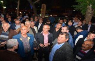 O İlde CHP İl Örgütü'nü Bastılar
