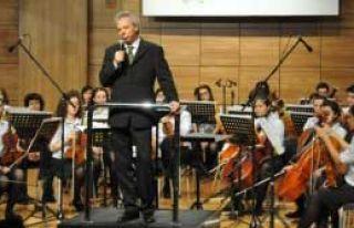 'Çocuk Senfonisi' Sahne Aldı